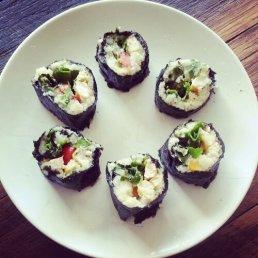 Sushi - the finished product
